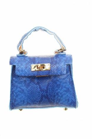 Geantă de femei, Culoare Albastru, Piele ecologică, Preț 92,84 Lei
