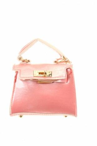 Γυναικεία τσάντα, Χρώμα Ρόζ , Δερματίνη, Τιμή 14,72€