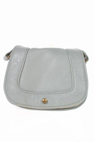Дамска чанта, Цвят Сив, Естествена кожа, Цена 17,64лв.