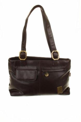 Дамска чанта Effect, Цвят Кафяв, Еко кожа, Цена 17,64лв.