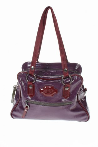 Дамска чанта George Gina & Lucy, Цвят Лилав, Еко кожа, Цена 34,02лв.