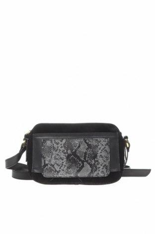Γυναικεία τσάντα Kiomi, Χρώμα Μαύρο, Γνήσιο δέρμα, Τιμή 38,86€
