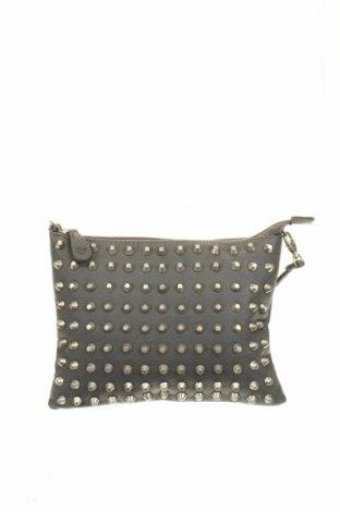Дамска чанта Pieces, Цвят Сив, Еко кожа, Цена 15,12лв.