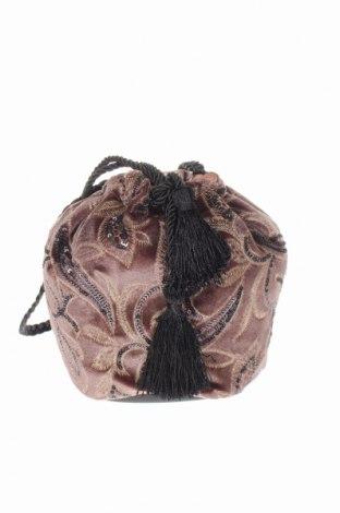 Geantă de femei Pimkie, Culoare Bej, Textil, Preț 50,66 Lei