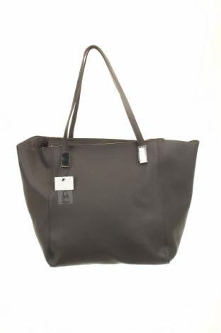 Geantă de femei Reserved, Culoare Gri, Piele ecologică, Preț 98,52 Lei