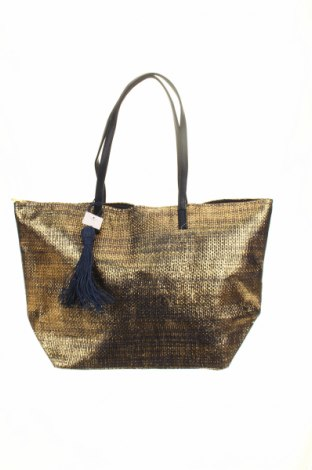 Geantă de femei Reserved, Culoare Auriu, Textil, Preț 111,79 Lei