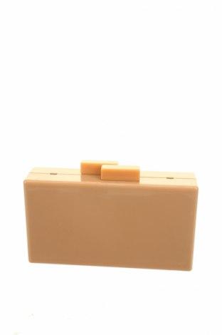 Дамска чанта Reserved, Цвят Бежов, Текстил, Цена 16,80лв.