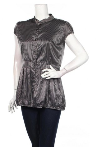 Дамска риза, Размер L, Цвят Черен, 95% полиестер, 5% еластан, Цена 6,53лв.