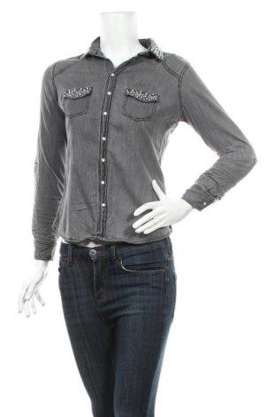 Dámska košeľa  Ann Christine, Veľkosť XS, Farba Sivá, Bavlna, Cena  9,16€