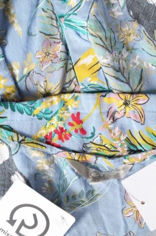 Дамска риза Clockhouse, Размер L, Цвят Син, Вискоза, Цена 7,75лв.