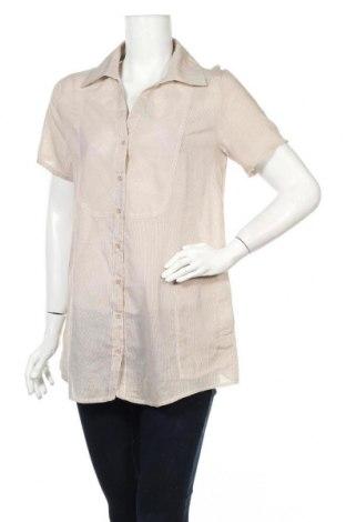 Дамска риза Millenium, Размер M, Цвят Кафяв, Памук, Цена 8,45лв.