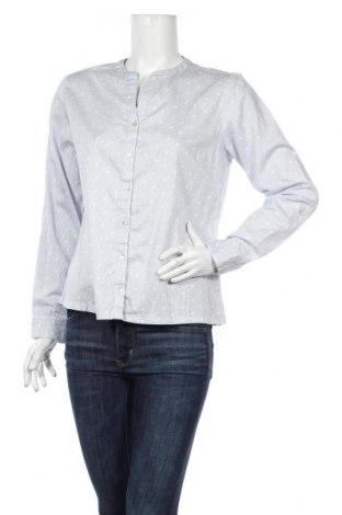 Γυναικείο πουκάμισο Street One, Μέγεθος M, Χρώμα Μπλέ, 100% βαμβάκι, Τιμή 11,46€