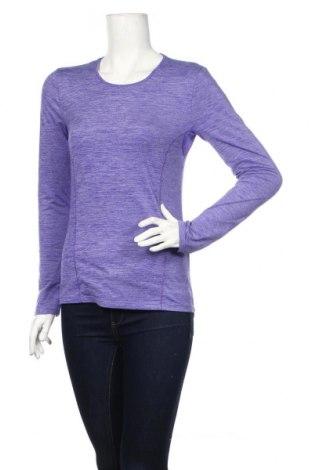 Дамска спортна блуза Active By Tchibo, Размер S, Цвят Лилав, 88% полиестер, 12% еластан, Цена 17,49лв.