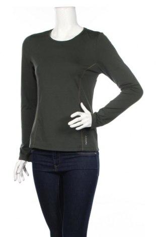 Дамска спортна блуза Active By Tchibo, Размер S, Цвят Зелен, 88% полиестер, 12% еластан, Цена 19,55лв.