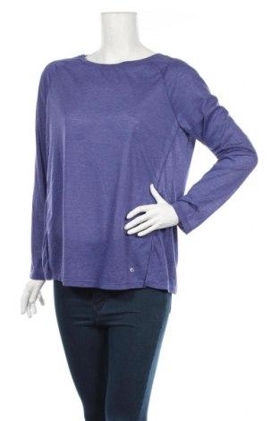 Дамска спортна блуза Active By Tchibo, Размер M, Цвят Лилав, 90% полиестер, 10% вискоза, Цена 22,64лв.
