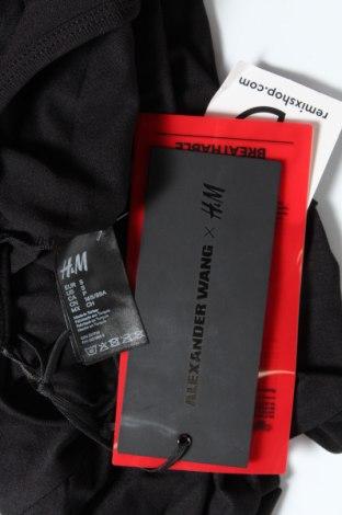Дамска блуза Alexander Wang For H&M, Размер S, Цвят Черен, Полиамид, Цена 3,54лв.
