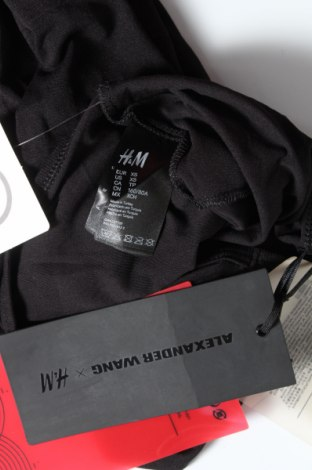 Дамска блуза Alexander Wang For H&M, Размер XS, Цвят Черен, Полиамид, Цена 3,54лв.