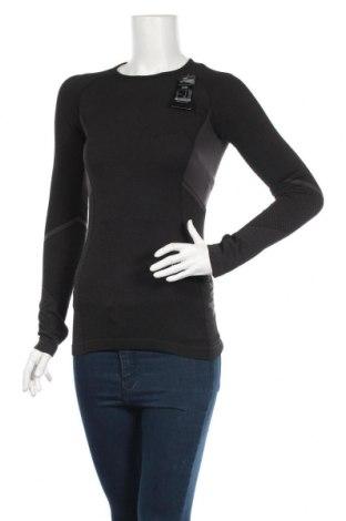 Γυναικεία αθλητική μπλούζα Hunkemoller, Μέγεθος S, Χρώμα Μαύρο, 59% πολυαμίδη, 34% πολυεστέρας, 7% ελαστάνη, Τιμή 24,19€