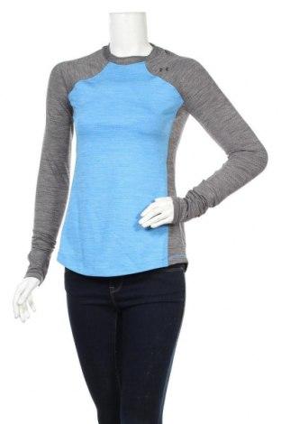 Dámska športová blúzka Under Armour, Veľkosť S, Farba Modrá, 90% polyester, 10% elastan, Cena  34,41€