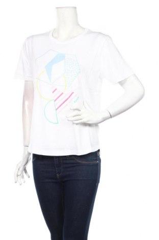 Tricou de femei Bench, Mărime M, Culoare Alb, 58% bumbac, 42% viscoză, Preț 64,42 Lei
