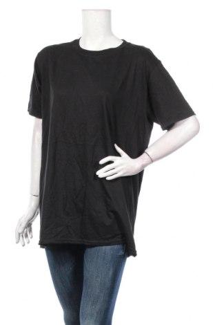 Γυναικείο t-shirt Boohoo, Μέγεθος L, Χρώμα Μαύρο, Τιμή 10,39€