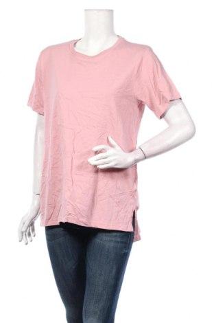 Γυναικείο t-shirt Boohoo, Μέγεθος XL, Χρώμα Ρόζ , Βαμβάκι, Τιμή 11,87€