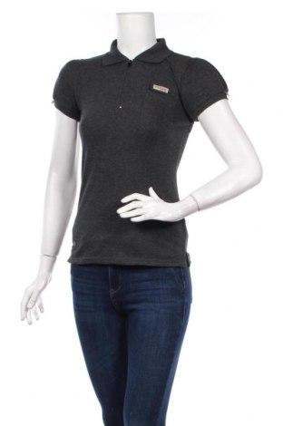 Дамска тениска Columbia, Размер S, Цвят Сив, 95% памук, 5% еластан, Цена 42,16лв.
