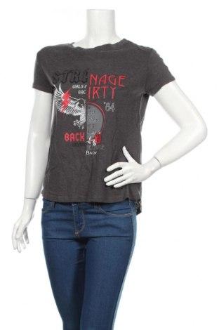 Γυναικείο t-shirt Cropp, Μέγεθος S, Χρώμα Γκρί, 57% βαμβάκι, 43% μοντάλ, Τιμή 10,76€