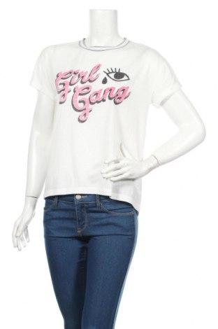 Γυναικείο t-shirt Cropp, Μέγεθος M, Χρώμα Λευκό, Πολυεστέρας, Τιμή 10,76€