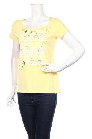 Tricou de femei Esprit, Mărime S, Culoare Galben, Bumbac, Preț 53,05 Lei