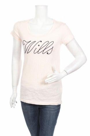 Γυναικείο t-shirt Jack Wills, Μέγεθος S, Χρώμα Ρόζ , 100% βαμβάκι, Τιμή 16,33€
