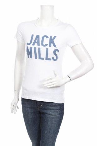 Γυναικείο t-shirt Jack Wills, Μέγεθος XS, Χρώμα Λευκό, 100% βαμβάκι, Τιμή 16,33€