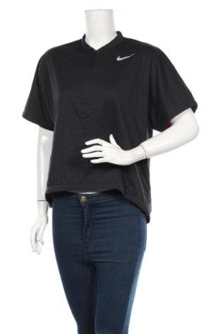 Dámské tričko Nike, Rozměr L, Barva Černá, Polyester, Cena  306,00Kč
