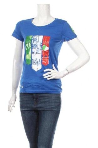 Dámské tričko PUMA, Rozměr S, Barva Modrá, Bavlna, Cena  511,00Kč