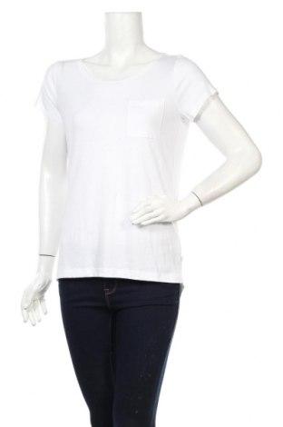 Tricou de femei Q/S by S.Oliver, Mărime M, Culoare Alb, 50% bumbac, 50% modal, Preț 92,84 Lei