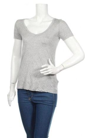 Tricou de femei Reserved, Mărime XS, Culoare Gri, Viscoză, Preț 51,16 Lei