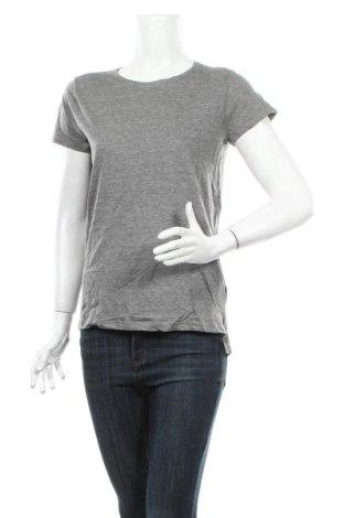 Γυναικείο t-shirt Sinsay, Μέγεθος S, Χρώμα Γκρί, 70% βαμβάκι, 30% βισκόζη, Τιμή 9,65€