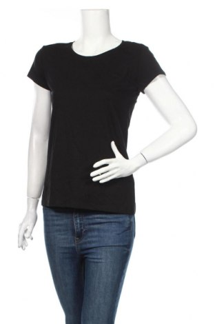 Γυναικείο t-shirt Sinsay, Μέγεθος XL, Χρώμα Μαύρο, 95% βαμβάκι, 5% ελαστάνη, Τιμή 8,91€