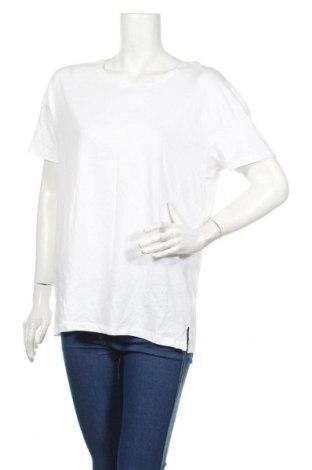 Tricou de femei Sinsay, Mărime XL, Culoare Alb, Bumbac, Preț 49,26 Lei
