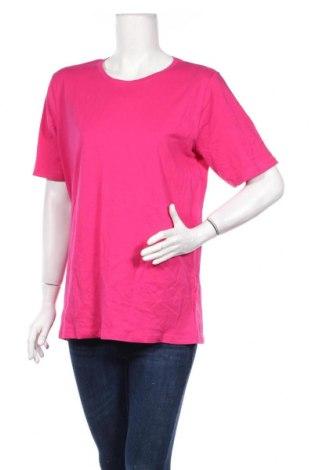 Γυναικείο t-shirt Sinsay, Μέγεθος M, Χρώμα Ρόζ , Βαμβάκι, Τιμή 9,65€