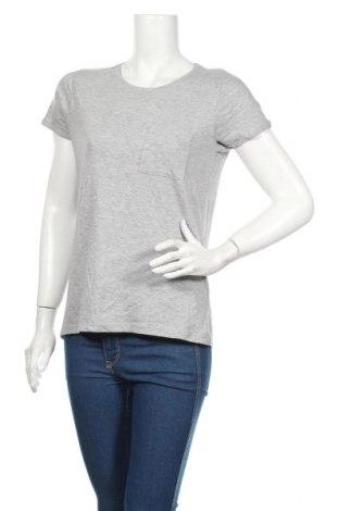 Tricou de femei Sinsay, Mărime XS, Culoare Gri, 90% bumbac, 10% viscoză, Preț 49,26 Lei