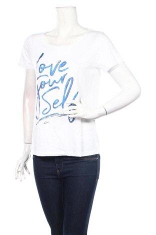 Tricou de femei Street One, Mărime M, Culoare Alb, 50% bumbac, 50% modal, Preț 60,63 Lei