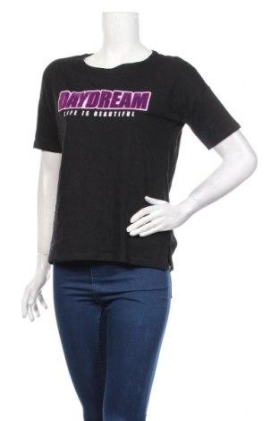 Γυναικείο t-shirt Yfl Reserved, Μέγεθος S, Χρώμα Μαύρο, Βαμβάκι, Τιμή 11,87€