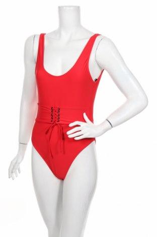 Damski strój kąpielowy Boohoo, Rozmiar S, Kolor Czerwony, 80% poliamid, 20% elastyna, Cena 39,00zł