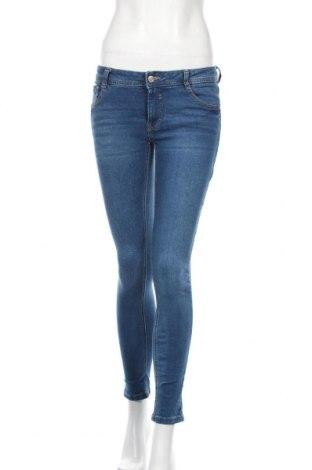 Damskie jeansy Clockhouse, Rozmiar M, Kolor Niebieski, 99% bawełna, 1% elastyna, Cena 81,00zł