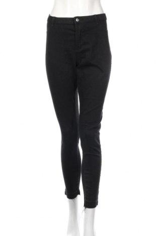 Dámske džínsy  Clockhouse, Veľkosť XL, Farba Čierna, 81% bavlna, 17% polyester, 2% elastan, Cena  13,34€