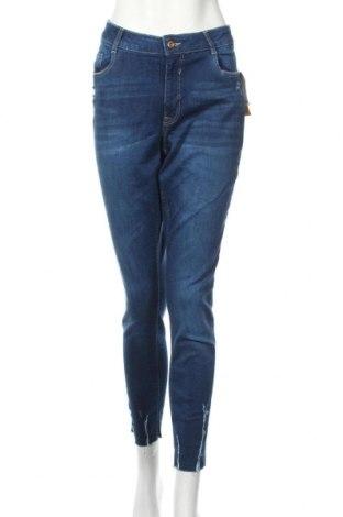 Γυναικείο Τζίν H&M Divided, Μέγεθος XL, Χρώμα Μπλέ, 99% βαμβάκι, 1% ελαστάνη, Τιμή 23,55€