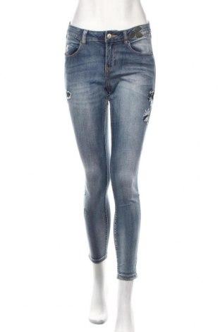 Damskie jeansy Reserved, Rozmiar XS, Kolor Niebieski, 99% bawełna, 1% elastyna, Cena 91,00zł