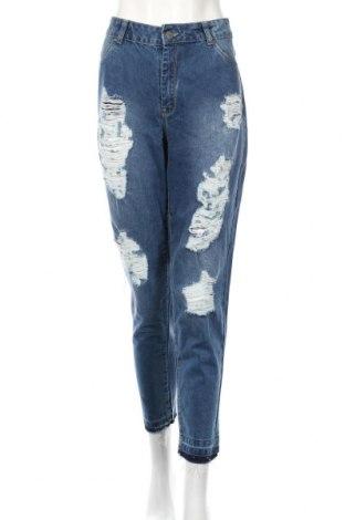Dámske džínsy  Reserved, Veľkosť XL, Farba Modrá, Bavlna, Cena  21,65€