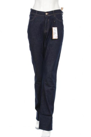 Дамски дънки Reserved, Размер M, Цвят Син, 99% памук, 1% еластан, Цена 23,60лв.